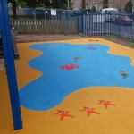 Wet Pour Graphics in Anslow Gate 7