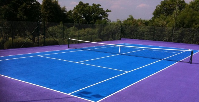 Sport Court Paint in Addington