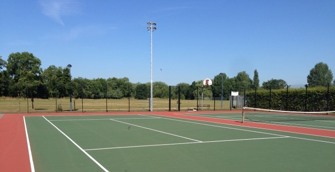 Tennis Court Painters in Aberangell