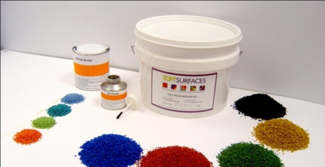 Wetpour Repair Kit in Aby